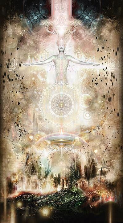 """""""Ascension is a shift in consciousness, a raising of all lower bodies (physical, emotional, mental and spiritual) to full awareness and presence in the NOW. Ascension is the raising of consciousness to a new level of existence, a shift from 3rd dimensional reality to that of the 5th dimension and beyond."""" 