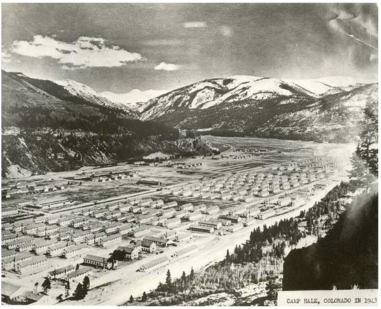 Camp Hale near Leadville, Colorado ~ 1940's