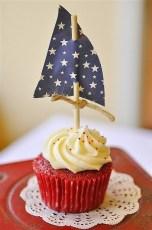 Gâteau anniversaire voile