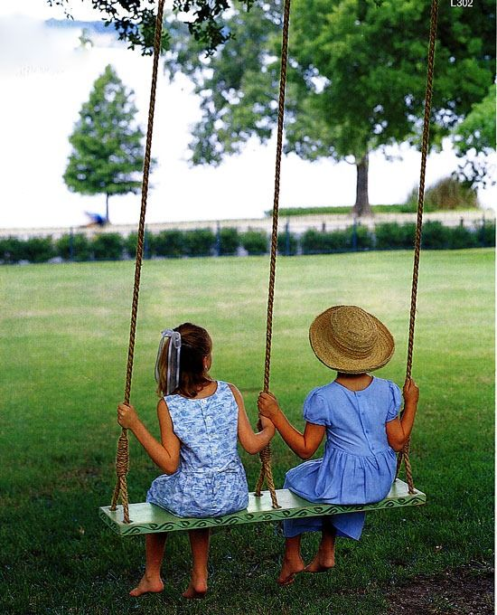 Swings:  This is going to happen in my yard in 2013!
