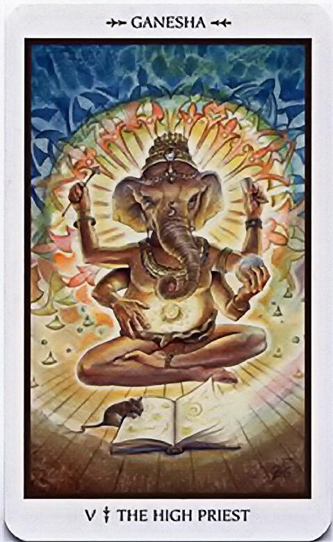 The Hierophant - V - Major Arcana | Tarot art