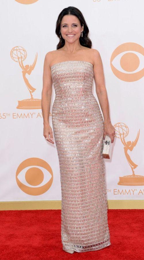 Julia Louis-Dreyfus from 2013 Emmys: Red Carpet Arrivals | E! Online