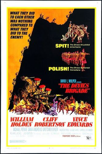 """LIMITED RUN! ONE DAY ONLY! ENDS SUNDAY NIGHT! """"The Devil's Brigade"""" (1968) 
