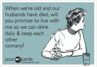 even in old age