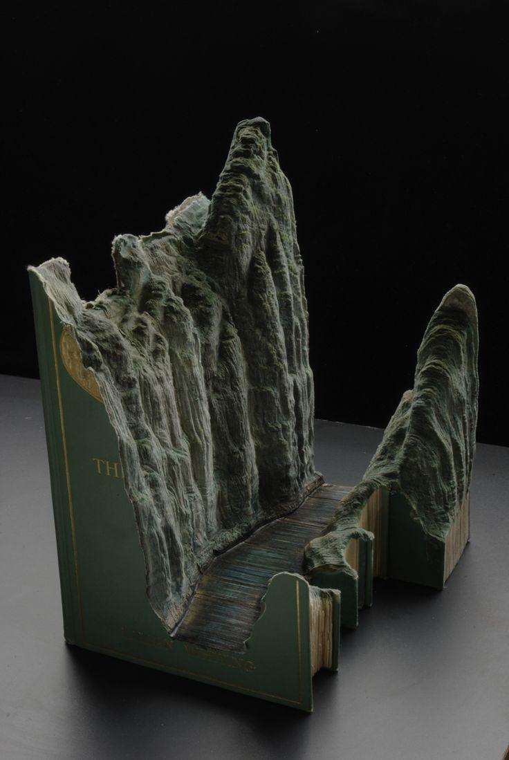 Book Sculptures, creative, design, Guy Laramee, innovation, Inspiration