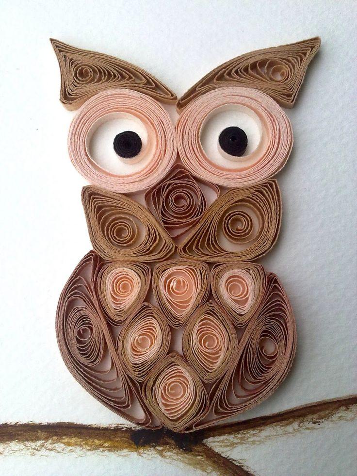 Owl Quilling