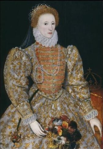 Queen Elizabeth I, by unknown continental artist © National Portrait Gallery, London