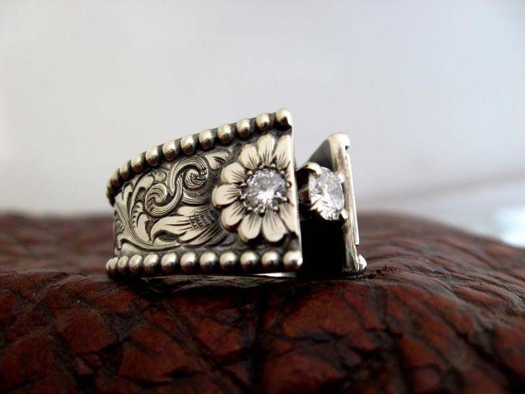 Westernweddingring Custom Made Western Wedding Rings