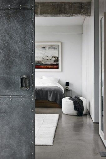 love the raw materials   An industrial loft in london http://vosgesparis.blogspot.jp/2012/08/an-industrial-loft-in-london