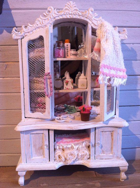 1:12 Dollhouse Miniature Furniture Wooden Ladder C7F7