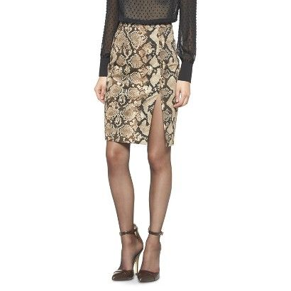 Altuzarra for Target Python Pencil Skirt- Natural
