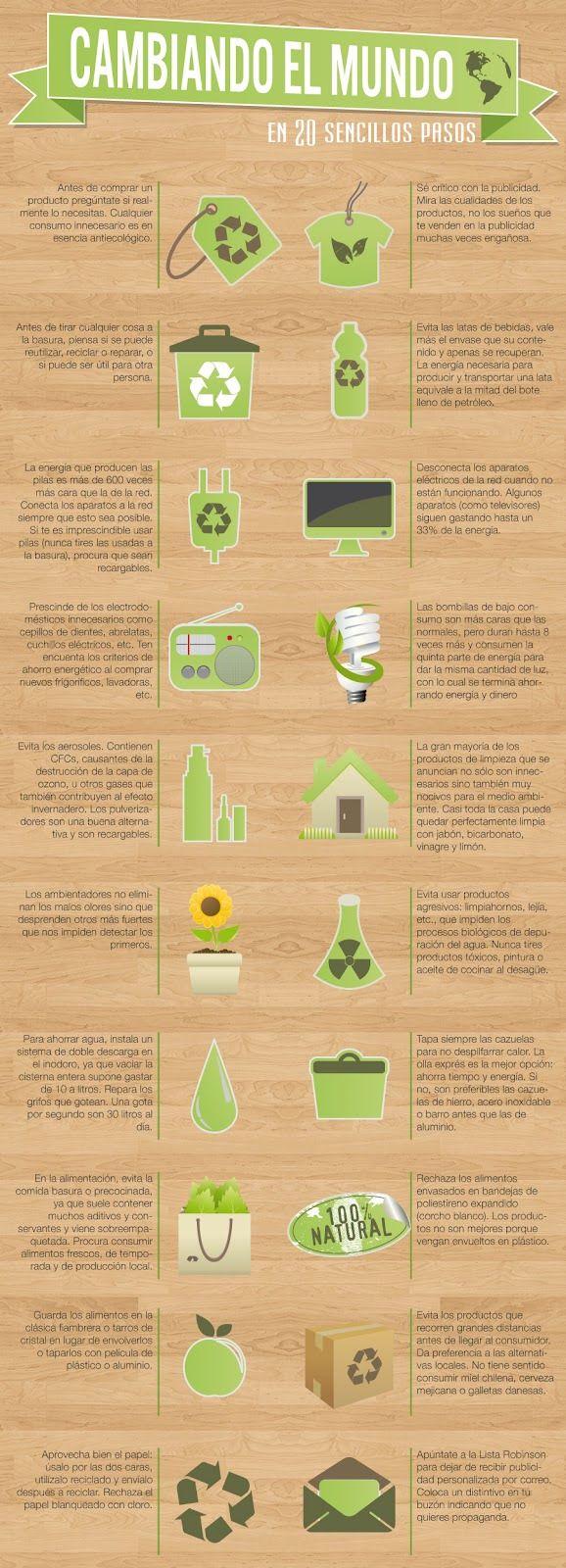 eco tips para un estilo de vida ecológico