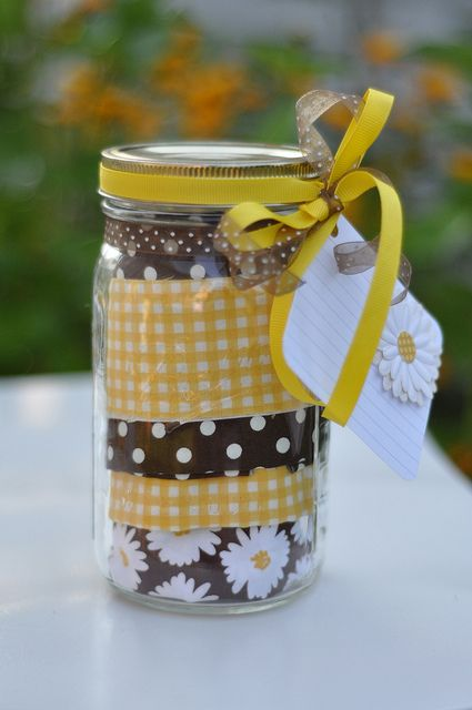 Apron in a Jar with a Recipe ~ cute Christmas gift idea!