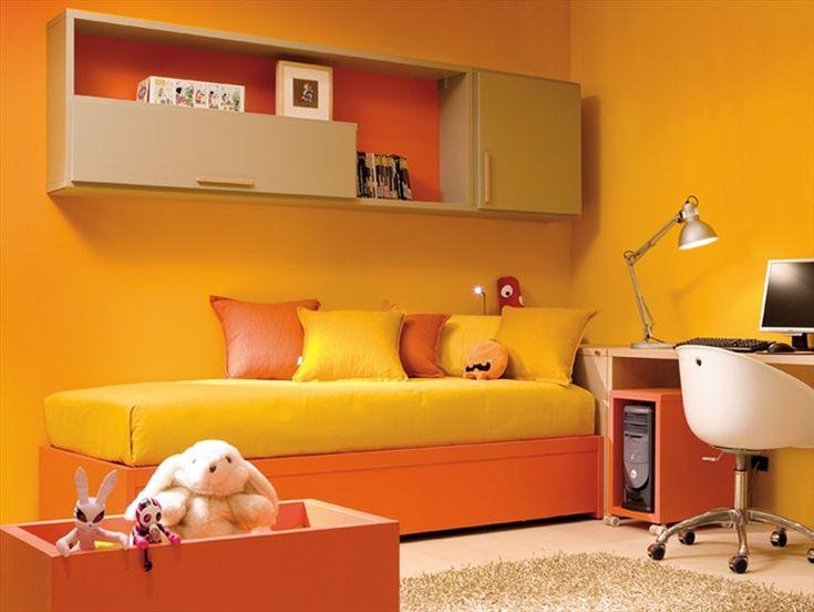 Lit Simple En Bois Affordable Nuit Toile With Lit Simple