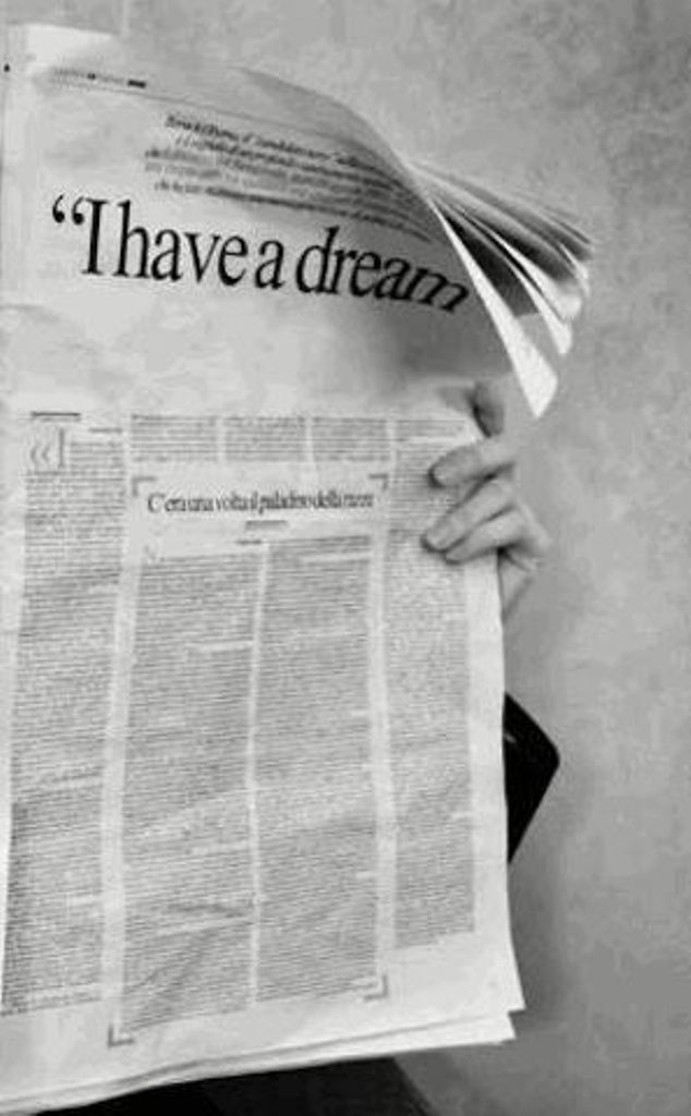 I have a #dream ....