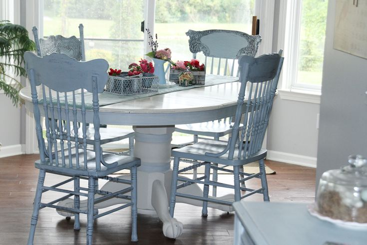 Annie Sloan Chalk Paint Table And Chairs