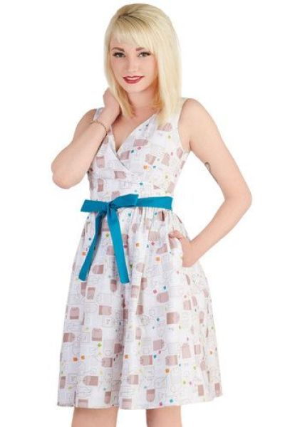 In the Key of Chic Dress in Tea Time, #ModCloth