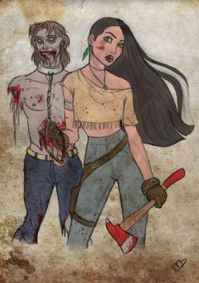 44 Ultimate Disney Mashups You Need In Your Life | Disney + The Walking Dead