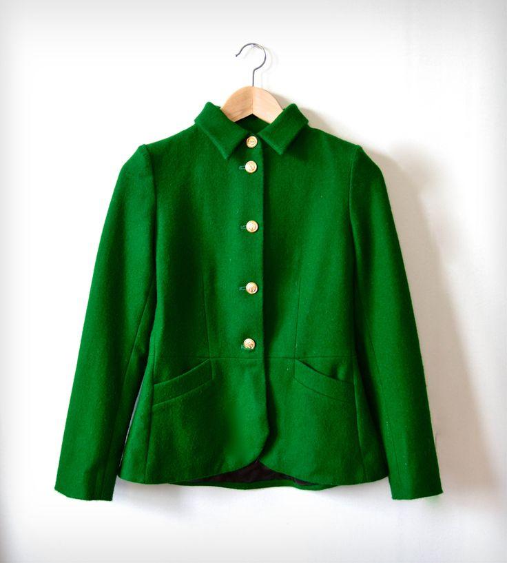 Green Ivy League Jacket