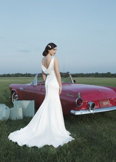 "JUST ARRIVED!!! ""Tilda"" by Justin Alexander, style no:8727."
