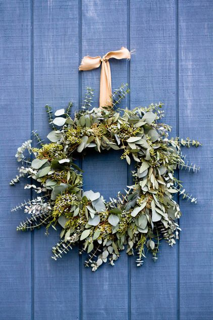 Make a Long-Lasting Eucalyptus Holiday Wreath | by Rikki Snyder