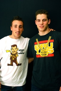 bromance at it's finest. marchand and seguin