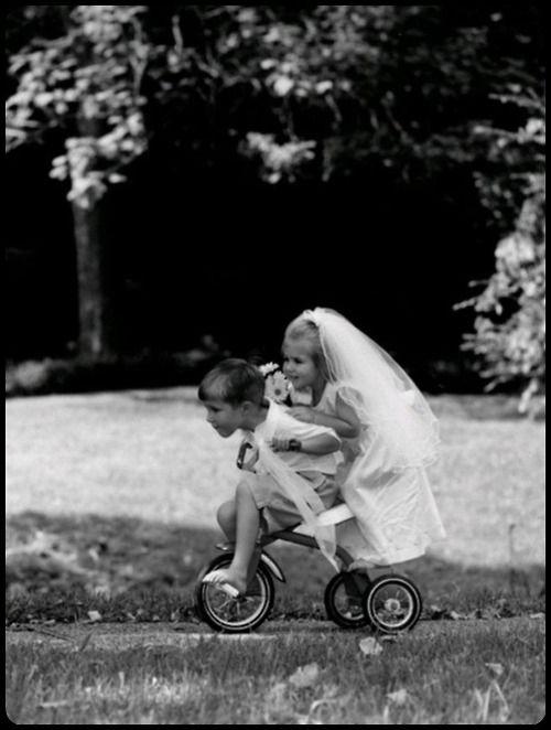 ecco che arriva la sposa ...