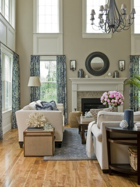 Decorating Ideas For High Ceilings Cottage And Vine