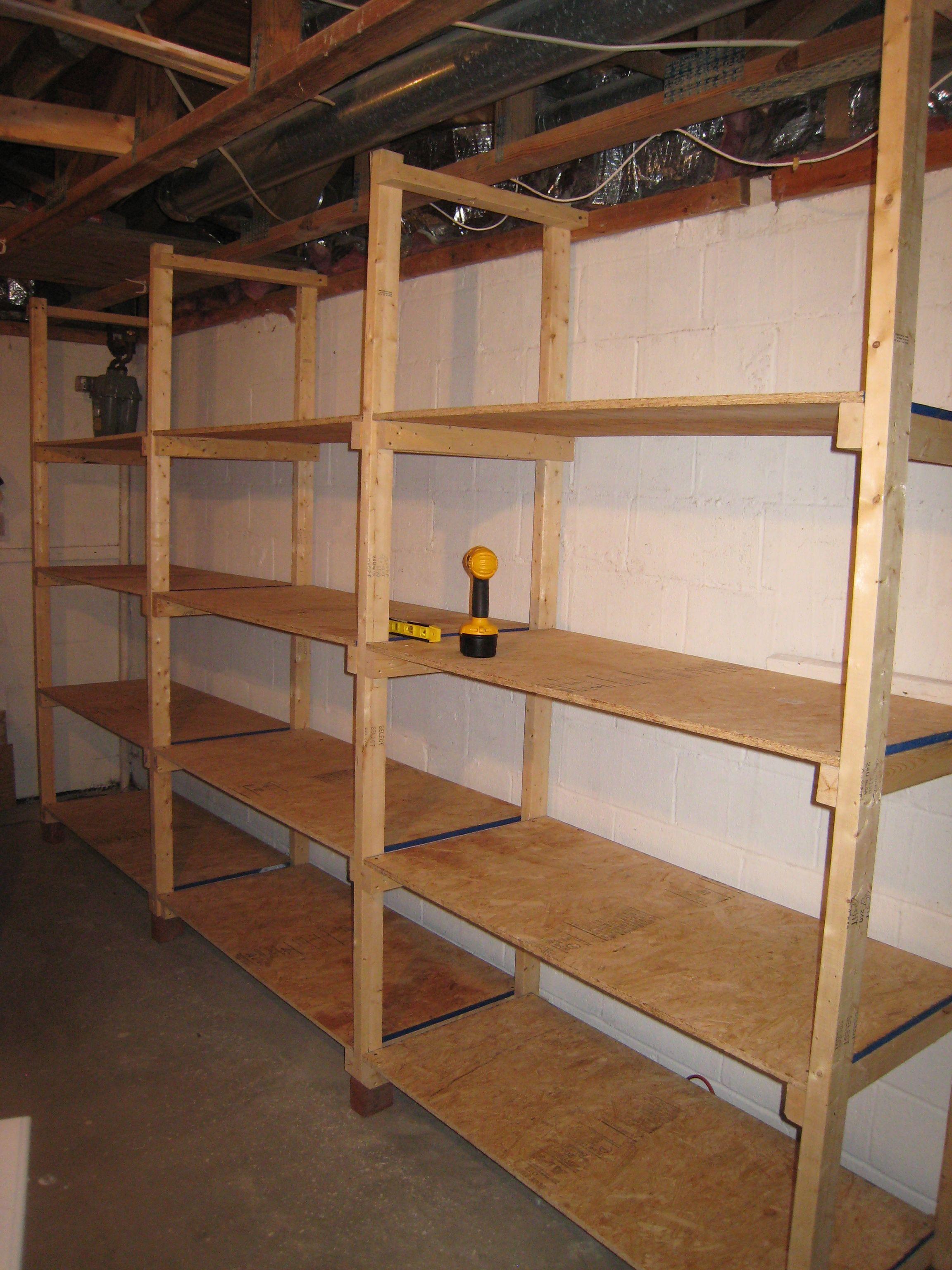 Build Diy Images Of Wood Storage Shelves Plans Wooden Woodworking
