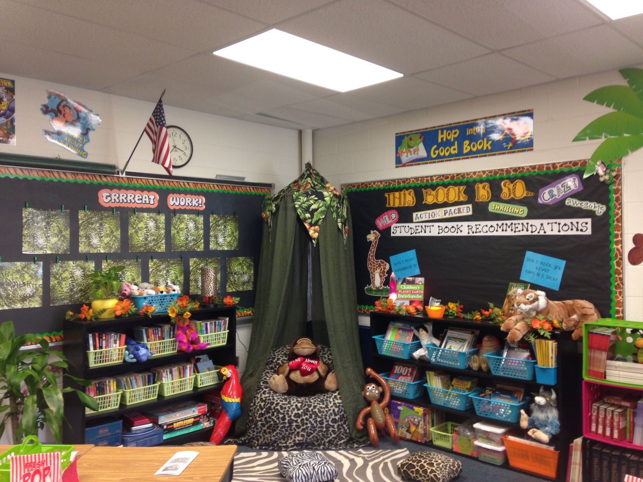 4th Grade Classroom Reading Jungle
