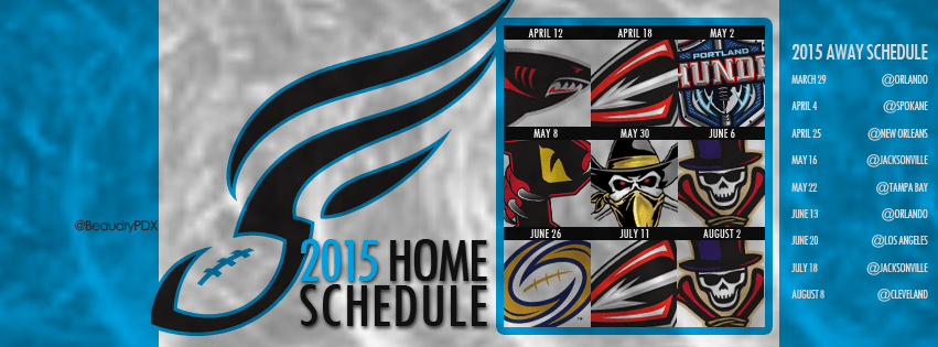 2015 Philadelphia Soul Schedule Cover Image