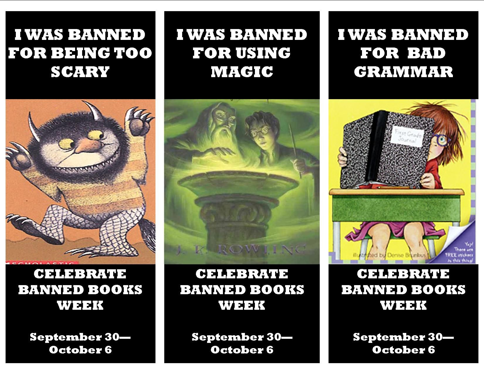 1000 Images About Banned Books Week Flyers On Pinterest