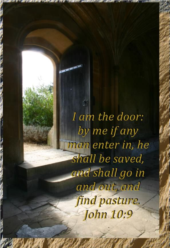 Image result for I am the door
