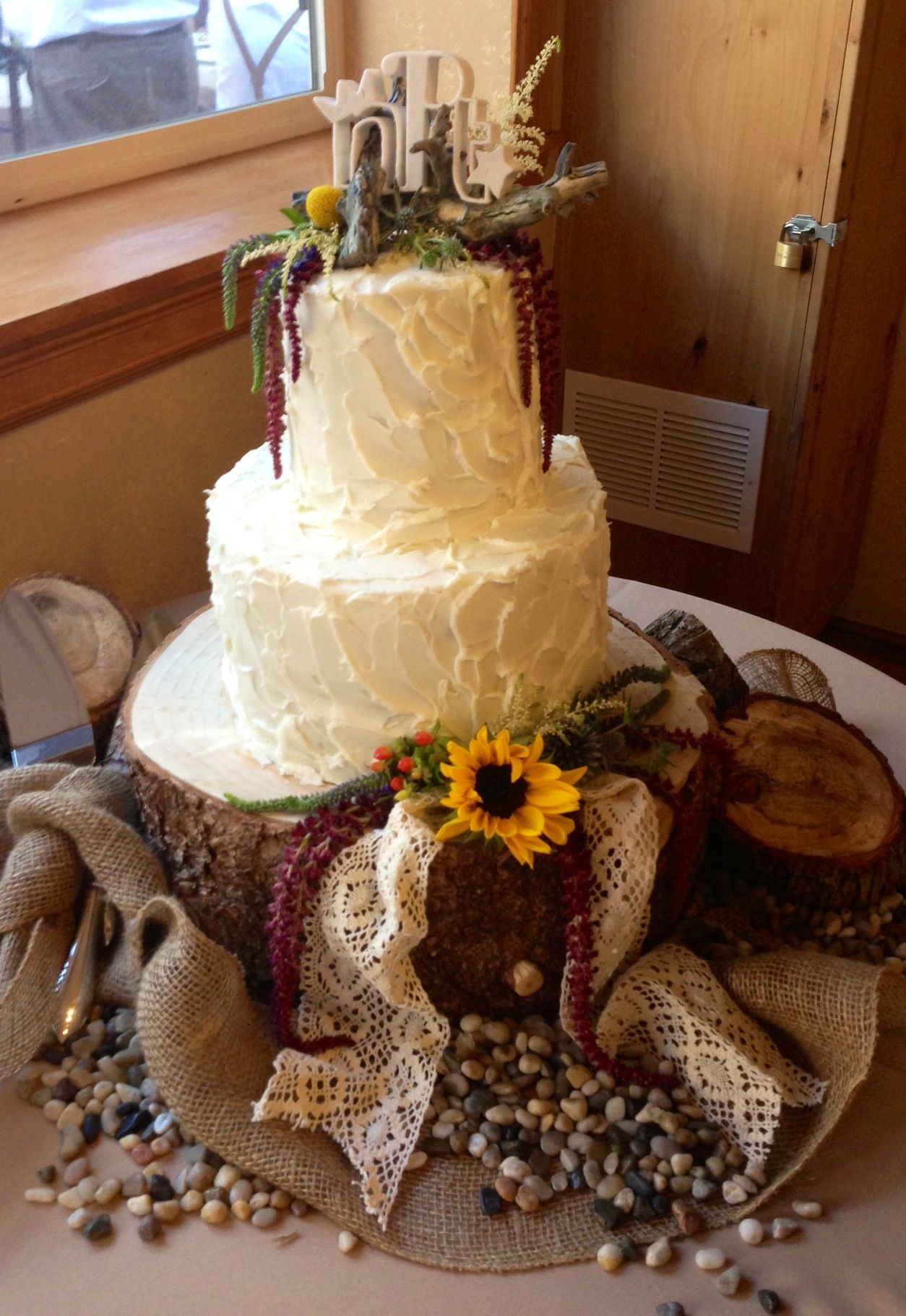 Rustic Wedding Cake Ideas Pinterest
