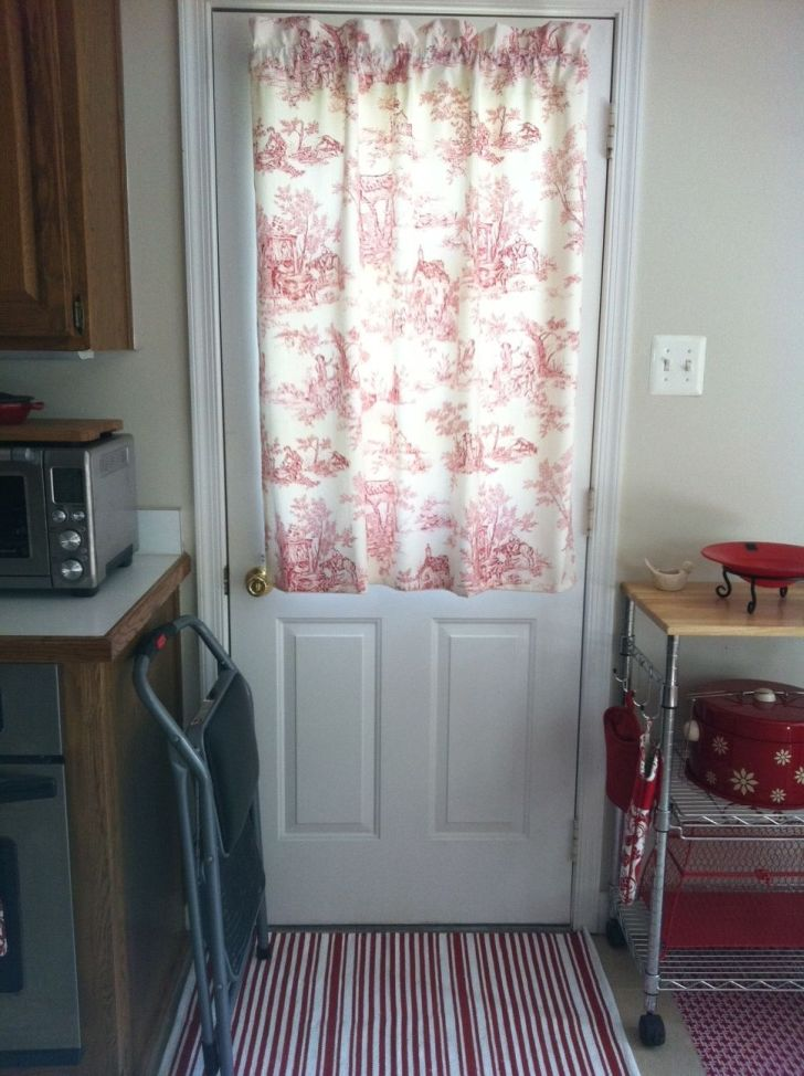 Kitchen Door Curtain Home Ideas Decor