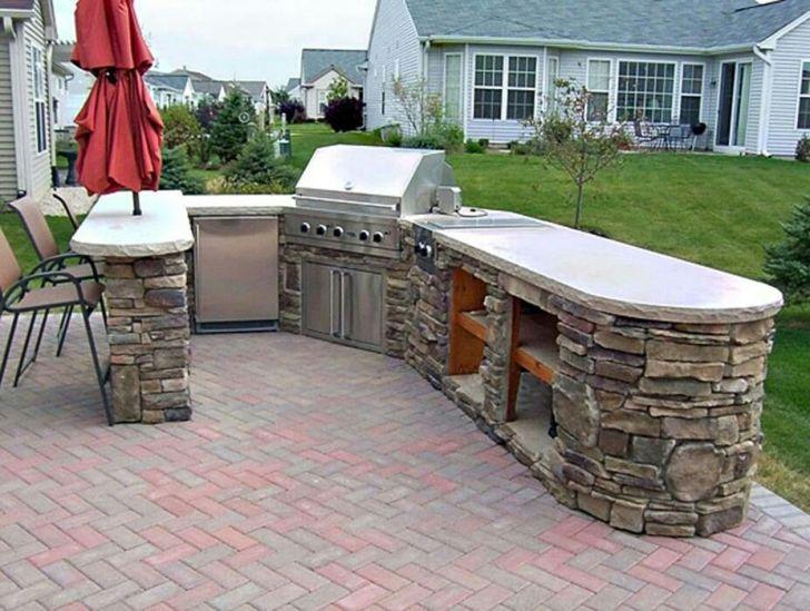 Built Bbq Outdoor Kitchen