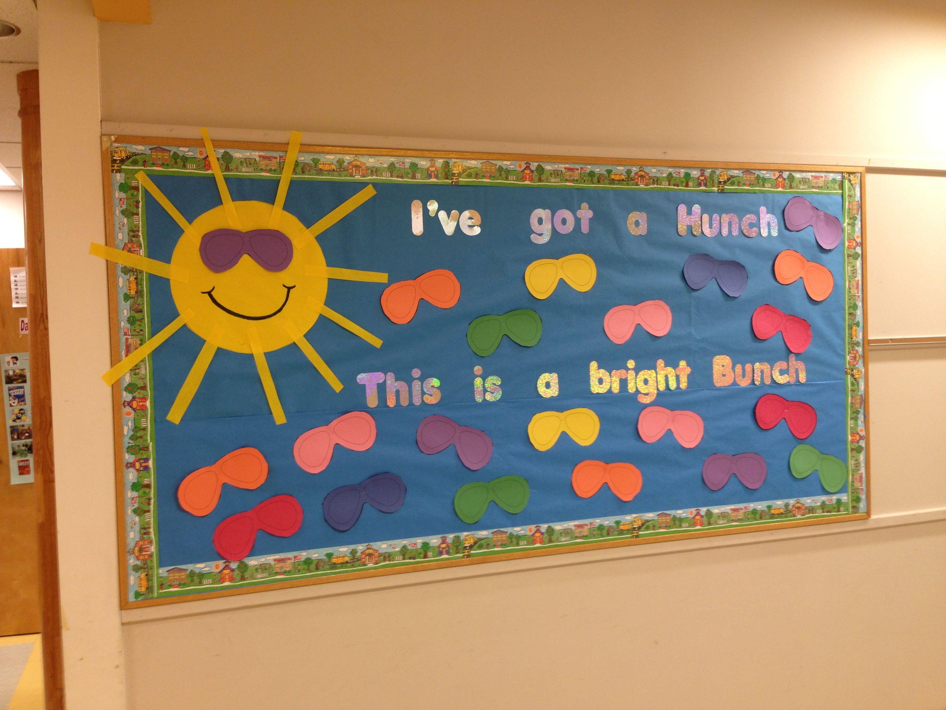 Back To School Bulletin Board Ideas Middle School