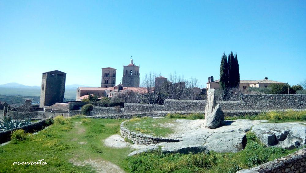 Trujillo. Vista desde la Alcazaba
