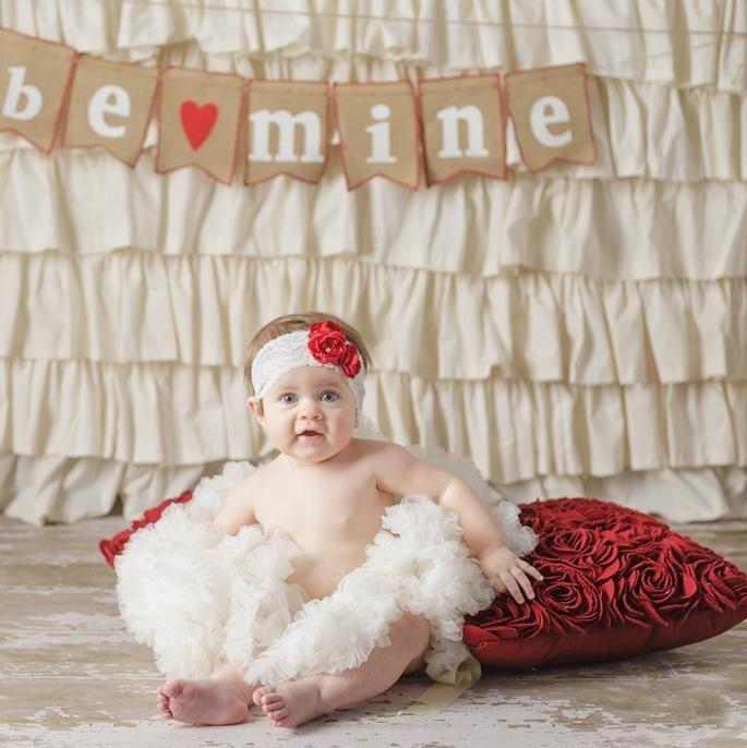 Valentines Baby Photo Professional Baby Photos Pinterest