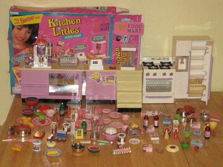Kitchen Littles 80s 90s Toys