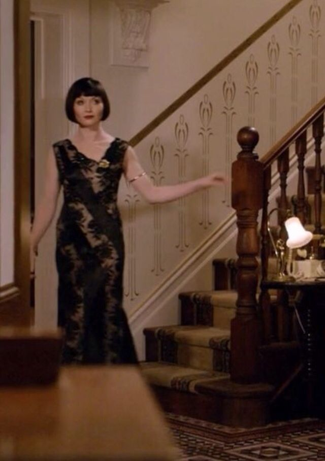 Miss Fisher's evening gown