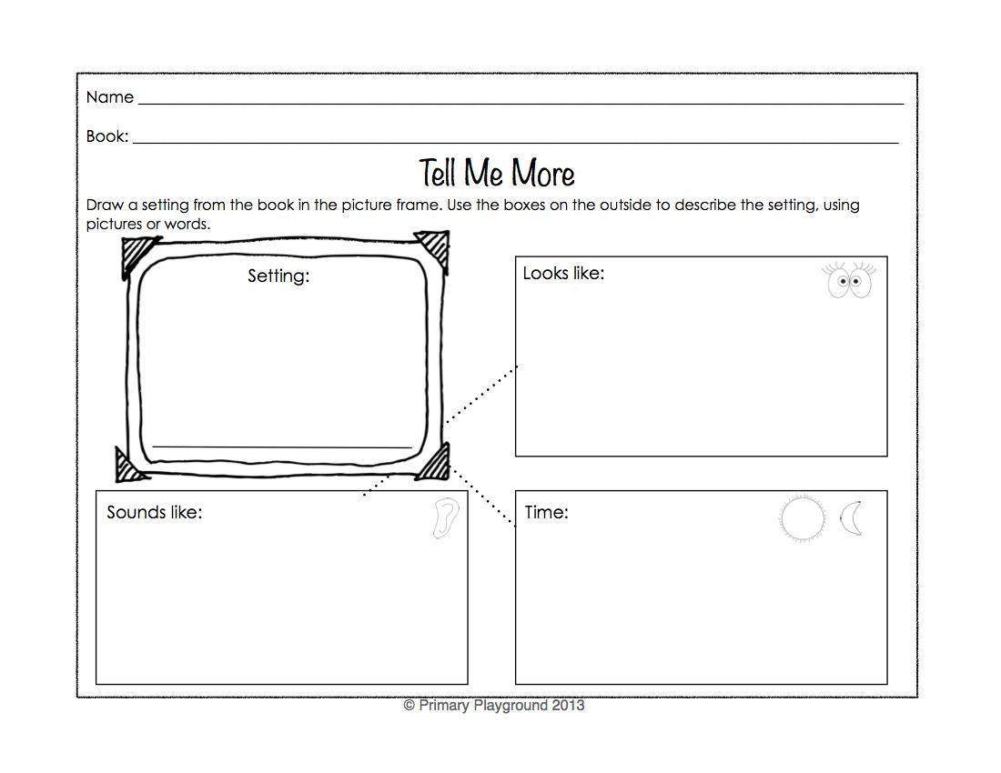 Included Are 18 Graphic Organizers For Identifying And