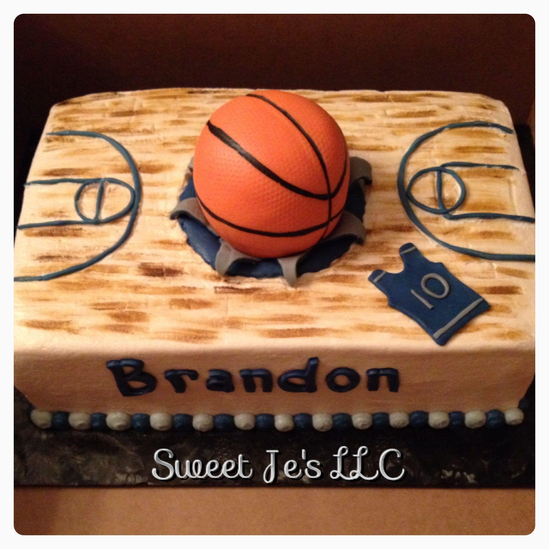 Basketball Cake Ideas Birthday Party