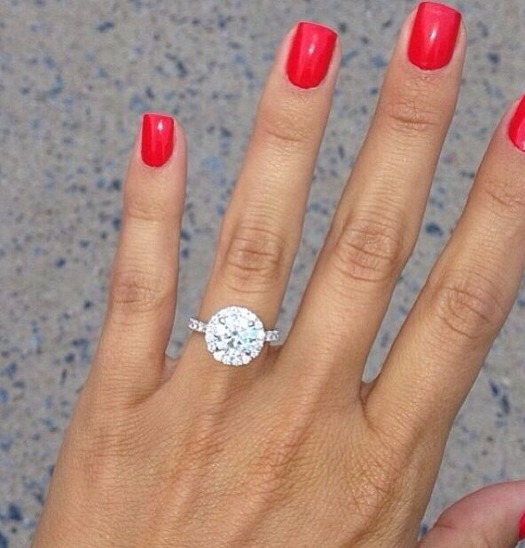 Brides, diamonds, wedding rings