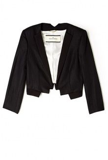 kasinua cropped linen jacket by By Malene Birger