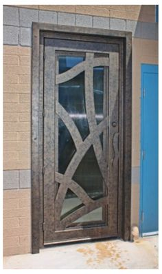 Abstract Signature Iron Entry Product Code: abssie001 from First Impression Security Doors