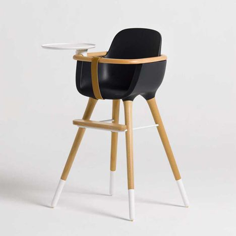 Ovo high chair by CuldeSac - the most beautiful high chair I've ever seen