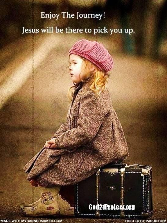 Enjoying my journey with Jesus.