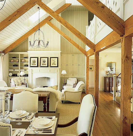 cottage style interior decor  Stylish Cottage Living: 14 Decorating Cottage Style Ideas