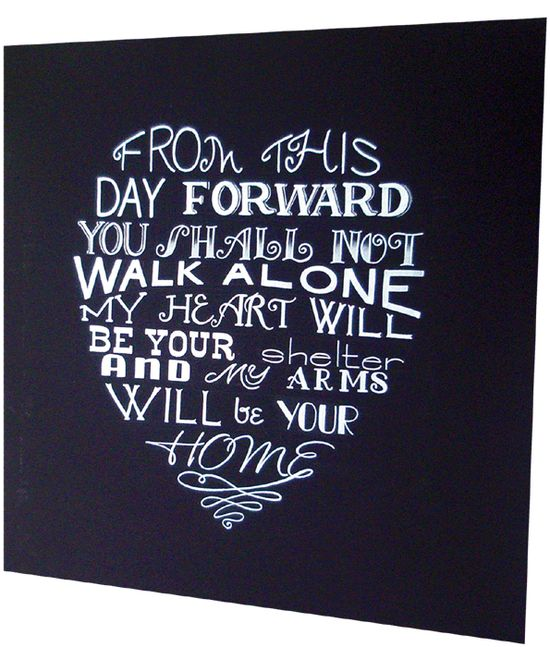 wedding chalkboard love poem blackboard | PinPoint
